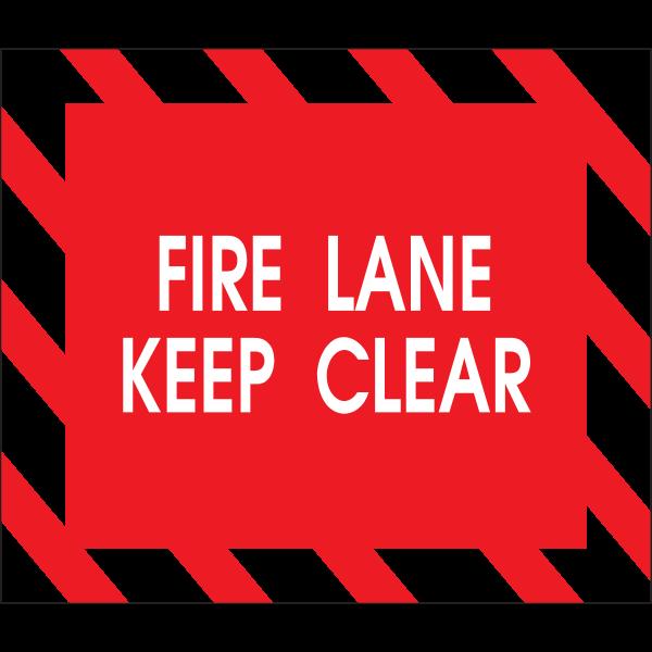 FIRE LANE KEEP CLEAR Logo ,Logo , icon , SVG FIRE LANE KEEP CLEAR Logo