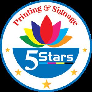 Five Star Big Printing Logo ,Logo , icon , SVG Five Star Big Printing Logo