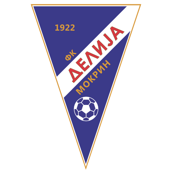 FK DELIJA Mokrin Logo ,Logo , icon , SVG FK DELIJA Mokrin Logo