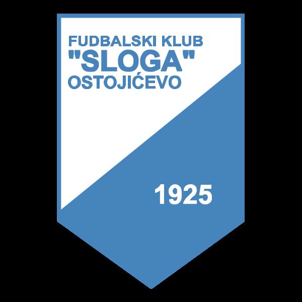 FK SLOGA Ostojićevo Logo ,Logo , icon , SVG FK SLOGA Ostojićevo Logo
