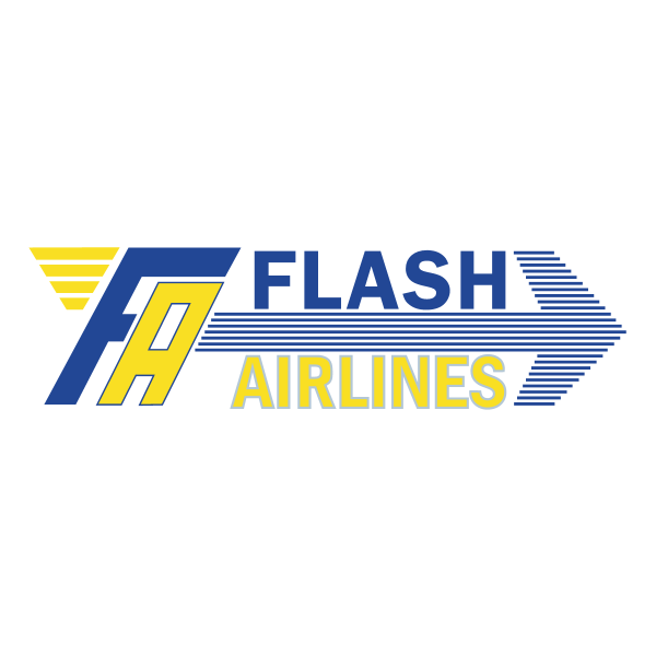 Flash Airlines Logo ,Logo , icon , SVG Flash Airlines Logo