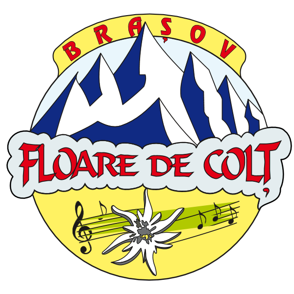 Floare de Colt Brasov Logo ,Logo , icon , SVG Floare de Colt Brasov Logo