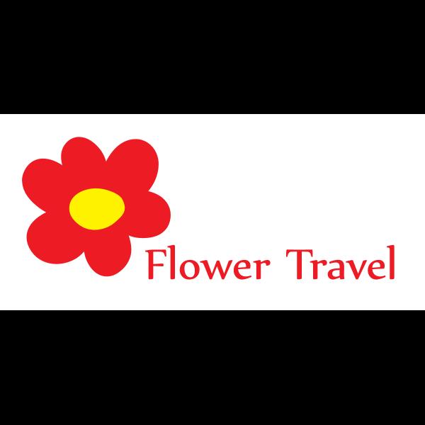 Flower Travel Logo ,Logo , icon , SVG Flower Travel Logo