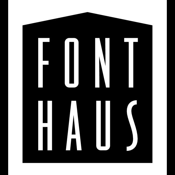 Font Haus ,Logo , icon , SVG Font Haus