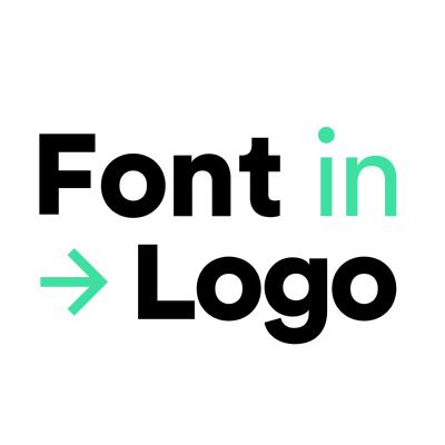 Font In Logo ,Logo , icon , SVG Font In Logo