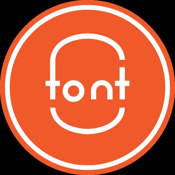 font Logo ,Logo , icon , SVG font Logo