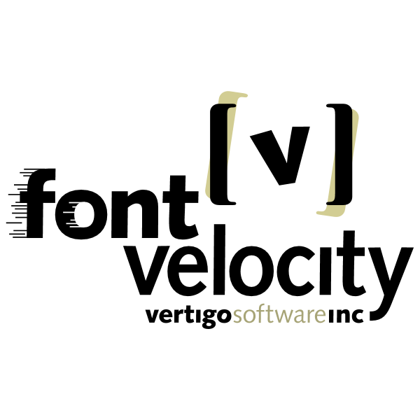 Font Velocity ,Logo , icon , SVG Font Velocity