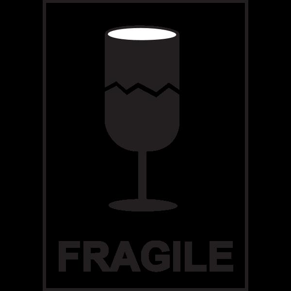FRAGILE SIGN Logo ,Logo , icon , SVG FRAGILE SIGN Logo