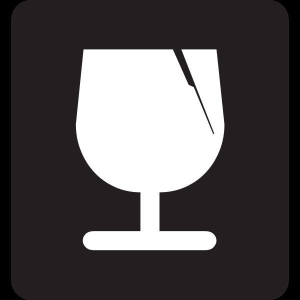 FRAGILE SYMBOL Logo ,Logo , icon , SVG FRAGILE SYMBOL Logo