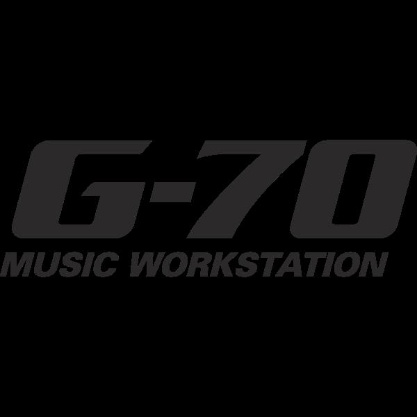G-70 Music Workstation Logo ,Logo , icon , SVG G-70 Music Workstation Logo
