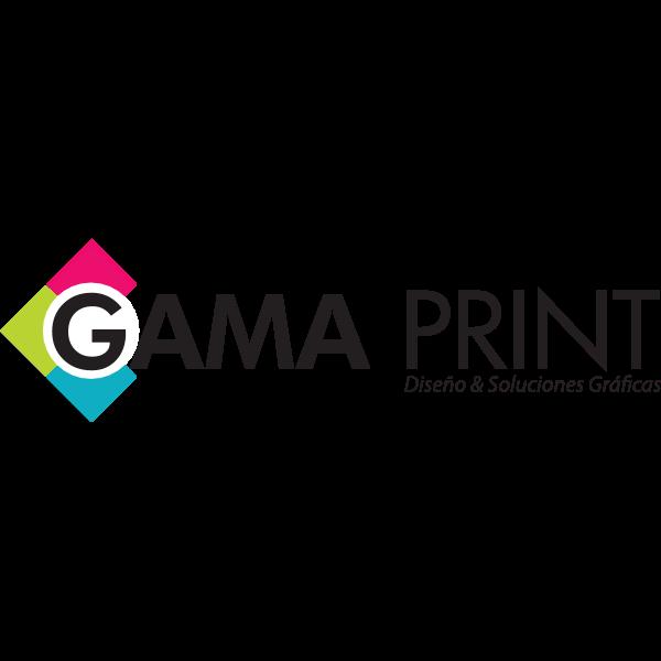 Gama Print Logo ,Logo , icon , SVG Gama Print Logo