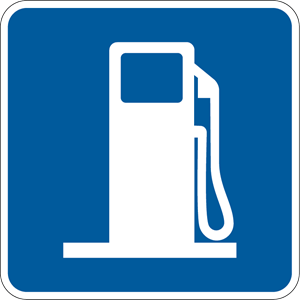 GAS STATION SIGN Logo ,Logo , icon , SVG GAS STATION SIGN Logo