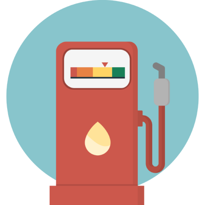 gas station ,Logo , icon , SVG gas station