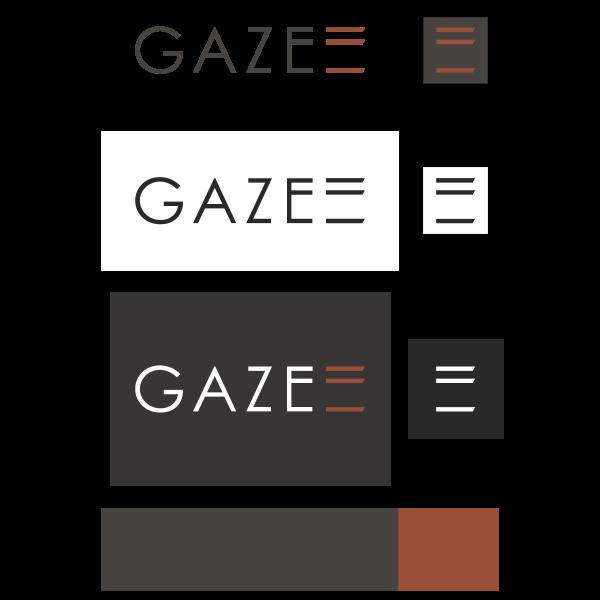 Gaze Logo ,Logo , icon , SVG Gaze Logo