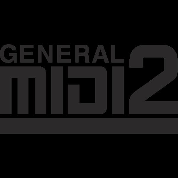 General MIDI 2 Logo ,Logo , icon , SVG General MIDI 2 Logo