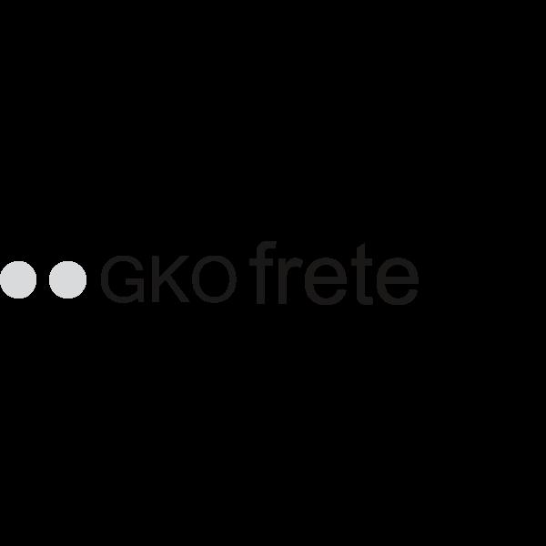 GKO FRETE B&W Logo ,Logo , icon , SVG GKO FRETE B&W Logo