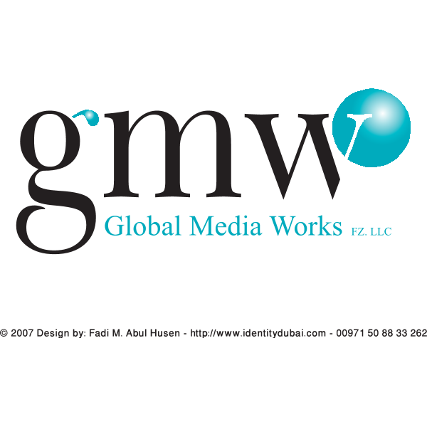 Global Media Works – GMW Logo ,Logo , icon , SVG Global Media Works – GMW Logo