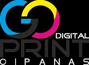 GO PRINT Logo ,Logo , icon , SVG GO PRINT Logo