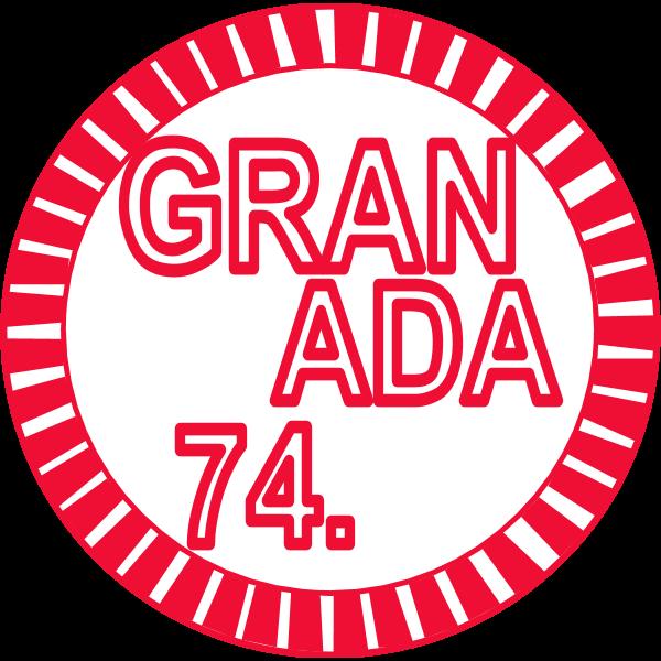 Granada CP 74 Logo ,Logo , icon , SVG Granada CP 74 Logo