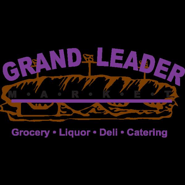 grand leader market Logo
