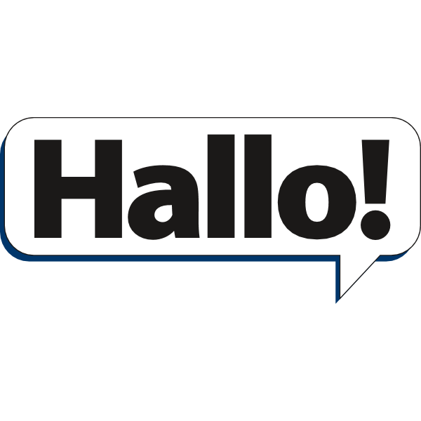 Hallo! Logo ,Logo , icon , SVG Hallo! Logo