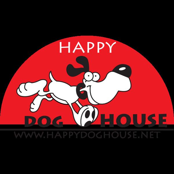 Happy Dog House Logo ,Logo , icon , SVG Happy Dog House Logo