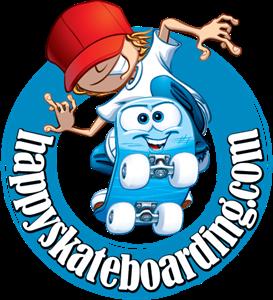 Happy Skateboarding Logo ,Logo , icon , SVG Happy Skateboarding Logo