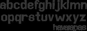 Havaianas Font Alfabeto Logo ,Logo , icon , SVG Havaianas Font Alfabeto Logo