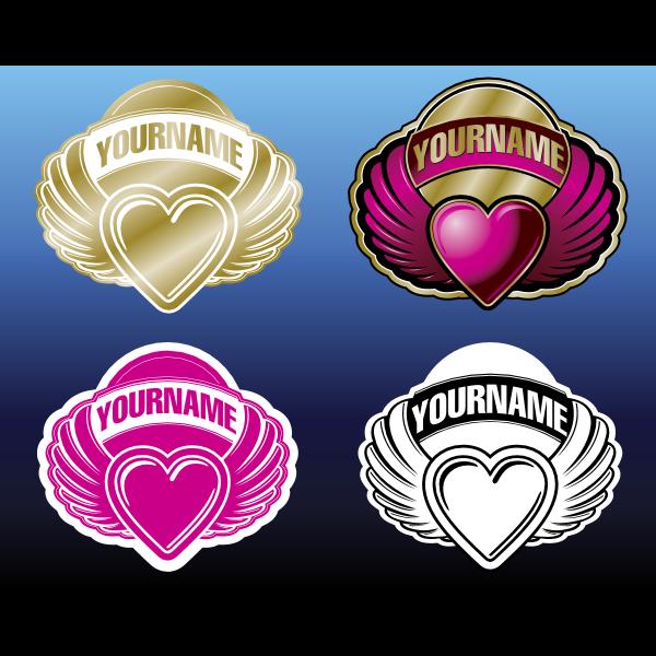 heart logo vector ,Logo , icon , SVG heart logo vector