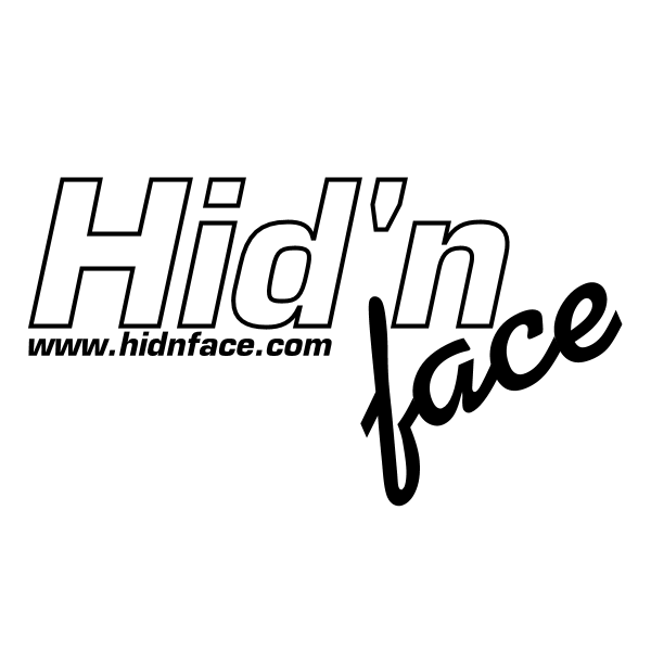 Hid'n face ,Logo , icon , SVG Hid'n face