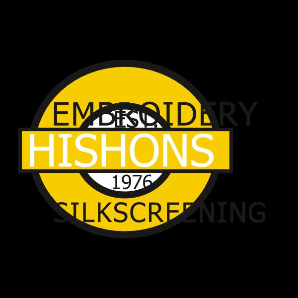 Hishons Embroidery & Silkscreening Logo ,Logo , icon , SVG Hishons Embroidery & Silkscreening Logo