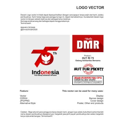 hut ri 75 kita galang solidaritas bersama 1 ,Logo , icon , SVG hut ri 75 kita galang solidaritas bersama 1