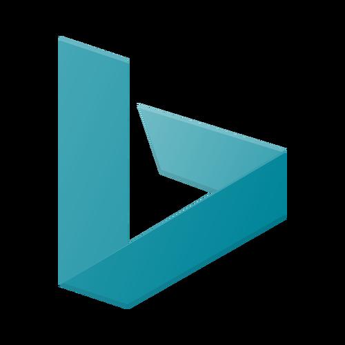 bing ,Logo , icon , SVG bing