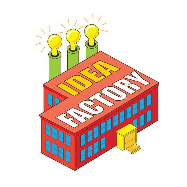 Idea Factory Logo ,Logo , icon , SVG Idea Factory Logo