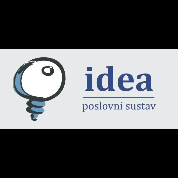 Idea Poslovni Sustav Logo ,Logo , icon , SVG Idea Poslovni Sustav Logo