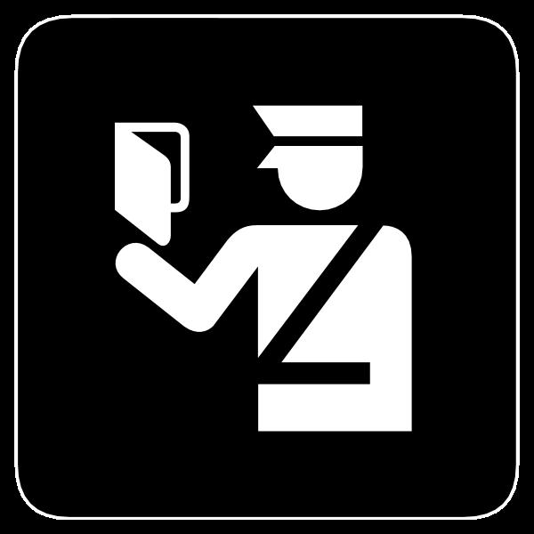 IMMIGRATION OFFICER SYMBOL Logo ,Logo , icon , SVG IMMIGRATION OFFICER SYMBOL Logo