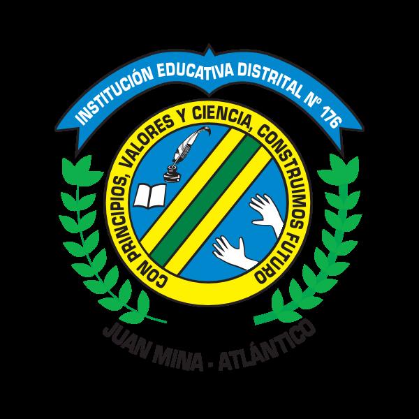 INSTITUCIÓN EDUCATIVA DISTRITAL N° 176 Logo ,Logo , icon , SVG INSTITUCIÓN EDUCATIVA DISTRITAL N° 176 Logo