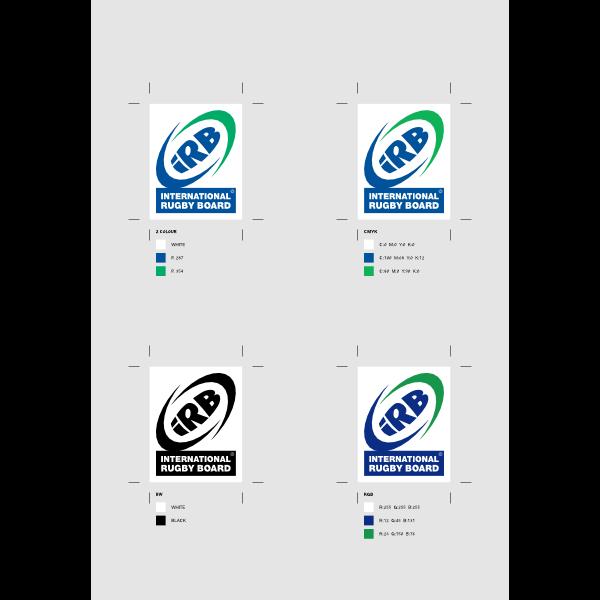 INTERNATIONAL RUGBY BOARD Logo ,Logo , icon , SVG INTERNATIONAL RUGBY BOARD Logo