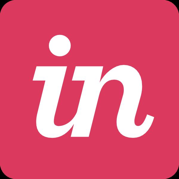 InVision ,Logo , icon , SVG InVision
