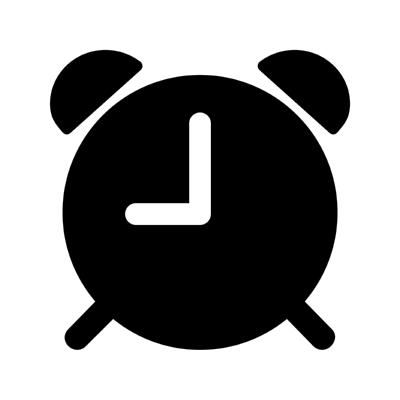 ios alarm ,Logo , icon , SVG ios alarm