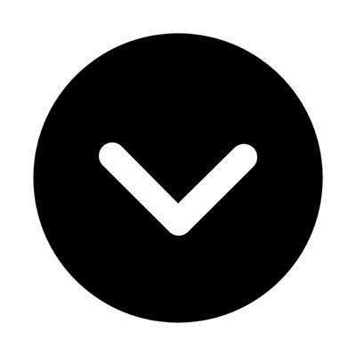 ios arrow dropdown circle ,Logo , icon , SVG ios arrow dropdown circle