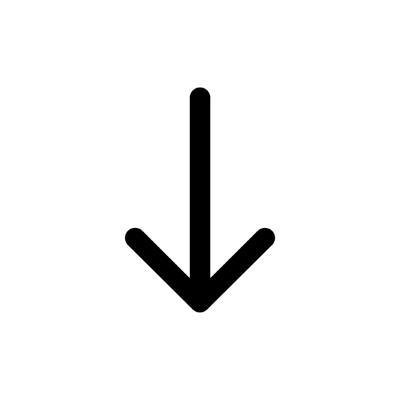 ios arrow round down ,Logo , icon , SVG ios arrow round down