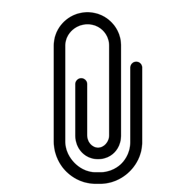 ios attach ,Logo , icon , SVG ios attach