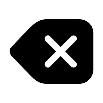 ios backspace ,Logo , icon , SVG ios backspace
