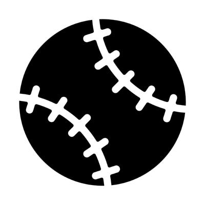 ios baseball ,Logo , icon , SVG ios baseball