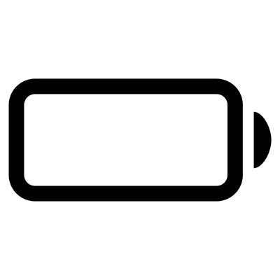 ios battery dead ,Logo , icon , SVG ios battery dead