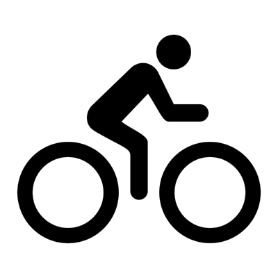 ios bicycle ,Logo , icon , SVG ios bicycle