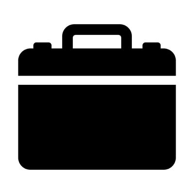 ios briefcase ,Logo , icon , SVG ios briefcase