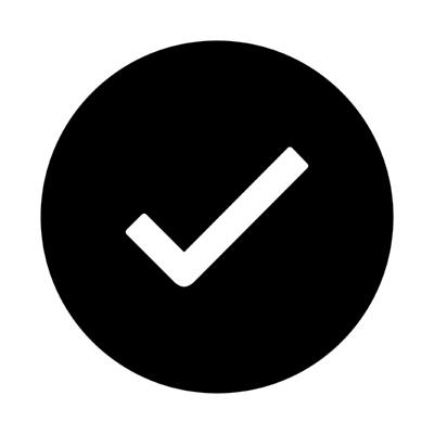 ios checkmark circle ,Logo , icon , SVG ios checkmark circle
