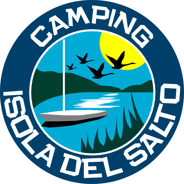 Isola del Salto Camping Logo ,Logo , icon , SVG Isola del Salto Camping Logo